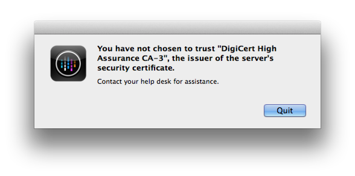 Citrix Receiver Error You Have Not Chosen To Trust Some
